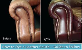 people always ask how should i dye my leather sofa here is an expert
