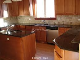 Tan Brown Granite Countertops Kitchen Granite Countertops No Backsplash