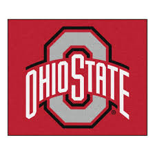 fanmats ncaa ohio state university red 5 ft x 6 ft indoor outdoor