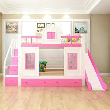 bunk bed with stairs for girls. Girls Loft Beds With Slides Wood Bunk Bed Stairs And Slide Option Toddler For 1