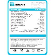 shopkorea discover korea on renogy 100w watts 12v monocrystalline solar panel off grid kit for rv boat item number 271211938333
