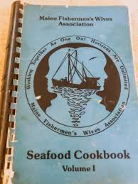 wives creating seafood cookbook ...