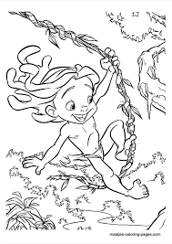 Small Picture Sheets Tarzan Coloring Pages 41 In Free Coloring Book with Tarzan
