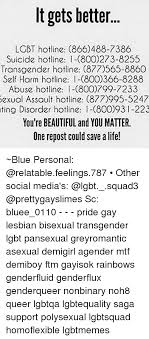 Gay lesbian and bisexual hotlines