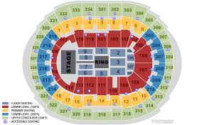 Staples Center Seat Map Concert Concertsforthecoast