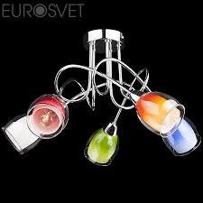Купить <b>люстру Eurosvet</b> (Китай) <b>2267/5</b> хром.