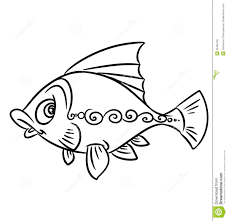 Fish Pattern Coloring Pages Download From