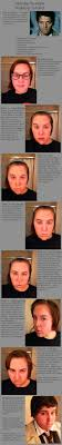 female to male castiel makeup tutorial by sunkist3208 deviantart on pinning because of stubble