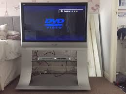 panasonic tv with stand. panasonic viera 37 inch th-37px60 plasma freeview tv + stand matching dvd player tv with