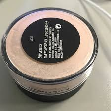 mac silver dusk loose highlight shimmer new htf dc