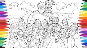 Disney movie is a part of our huge collection of coloring pages. Ralph Breaks The Internet Wreck It Ralph 2 Coloring Pages For Kids Disney Princesses Coloring Pages Youtube