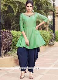 Kurta Designs In Nepal Daily Wear Green Color Designer Kurti