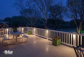 Amazing of Patio Deck Lighting Ideas Outdoor Lighting Ideas For A Deck Or  Patio Mckay Landscape