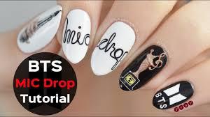 Bts Nail Designs