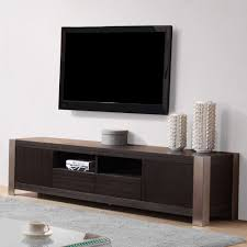 Ayla Light Walnut Stainless Steel Ir Compatible Tv Stand B Modern Composer Tv Stand Grey And Ebony Tv Stands By B