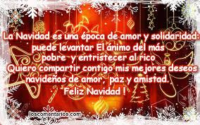 Resultat d'imatges de poemas de navidad para amigos