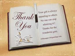 Thank You Messages For Gifts 365greetings Com