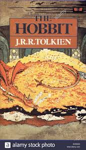 1980s uk the hobbit by j r r tolkien book cover