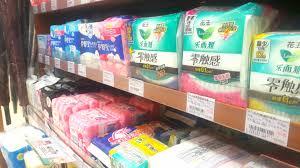 Sanitary Pad Size Chart Sanitary Pads Tampons The Feminine Hygiene Market In China