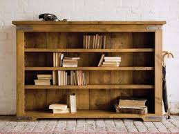 solid wood bookcase with glass doors plan by size handphone
