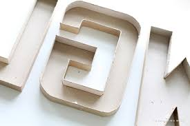 Step-by-step instructions to create gorgeous DIY Marquee Letters for your  home!
