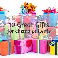 10 great gift ideas for chemo patients