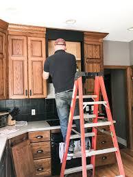 how to make an oak kitchen cool again