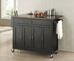 stunning narrow kitchen island on wheels with cabinet door bow with astonishing stainless steel kitchen cart