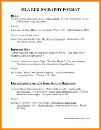 Mla Essays Examples 7 Citation Format Example Bibliography How To