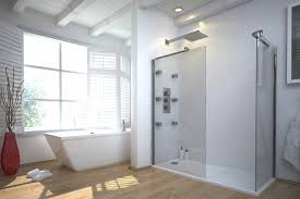 Amazing Unique Bathroom Showers with Glass Door in the Modern Small Bathroom