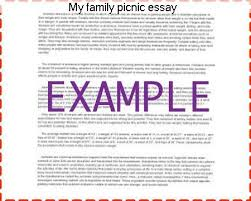 my family picnic essay essay writing service my family picnic essay essays on a family picnic get help your writing