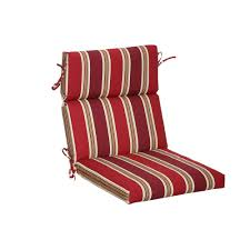 outdoor dining chair cushions. Hampton Bay Chili Stripe Outdoor Dining Chair Cushion Cushions I