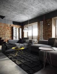 Home Designs: Cool Attic Loft - Exposed Brick Decor Ideas