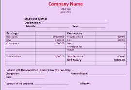 Format Salary Slip Impressive Salary Slip Format In Excel Free Download Free Download Maintenance