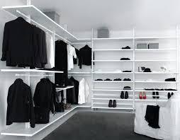 contemporary walk in wardrobe lacquered aluminum personal pe01