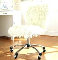 fur vanity chair glam diy fur vanity chair