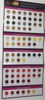 Li Pigments Colour Chart Aqua