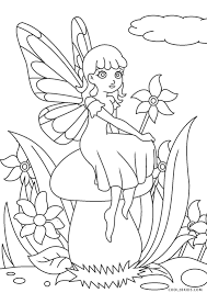 Select from 35429 printable coloring pages of cartoons, animals, nature, bible and many more. Free Printable Fairy Coloring Pages For Kids