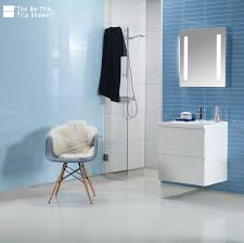 high gloss sky blue laminated shower and bathroom wall panels innovate building solutions