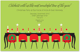 Festive Holiday Dinner Party Invitations Myexpression 13165