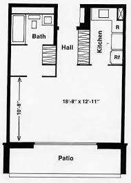 ... Remarkable Bachelor Apartment Floor Plan Holiday Towers North And South  ...