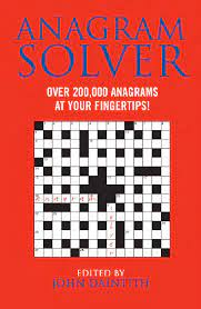 anagram solver over 200 000 anagrams