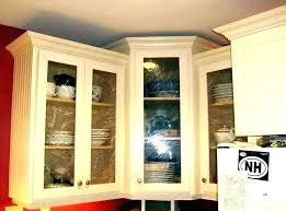 glass fronted wall cabinets for kitchen units