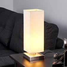 Martje White Table Light With E14 Led Lamp Lightscouk