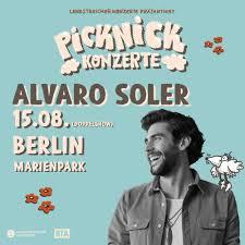 ALVARO SOLER (Nachmittagsshow) live in Berlin - Jetzt Tickets sichern! · · ,