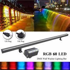12w rgb led linear wall washer lighting