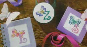 Butterfly Alphabet Chart Butterfly Abc Alphabet 0 To 9 Numbers 36 Cross Stitch Charts