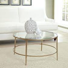 metal glass coffee table. Gold Round Side Table Coffee Tables Metal Glass With