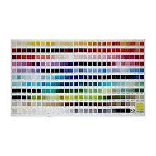 Kaufman Kona Digital Printed 24in Color Chart Panel Multi