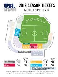 Usl Memphis Releases Inaugural Season Ticket Pricing